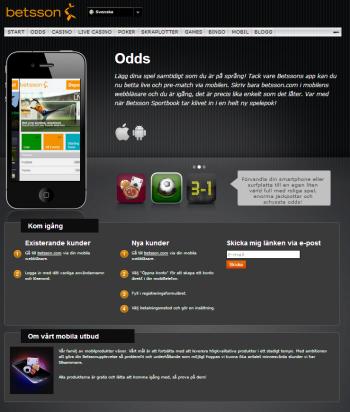 Betsson mobil casino 2
